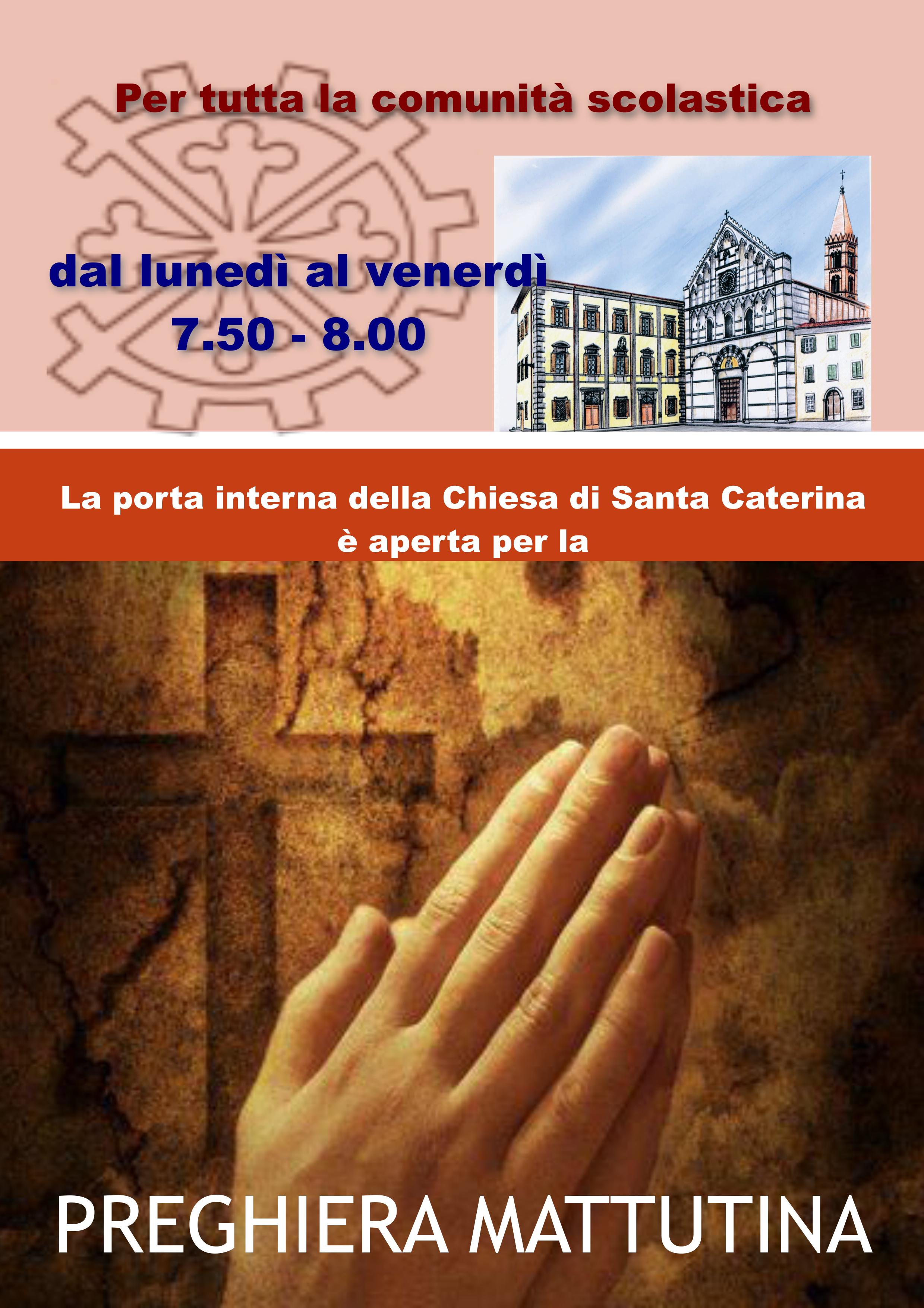 Locandina preghiera A.S. 2013-2014