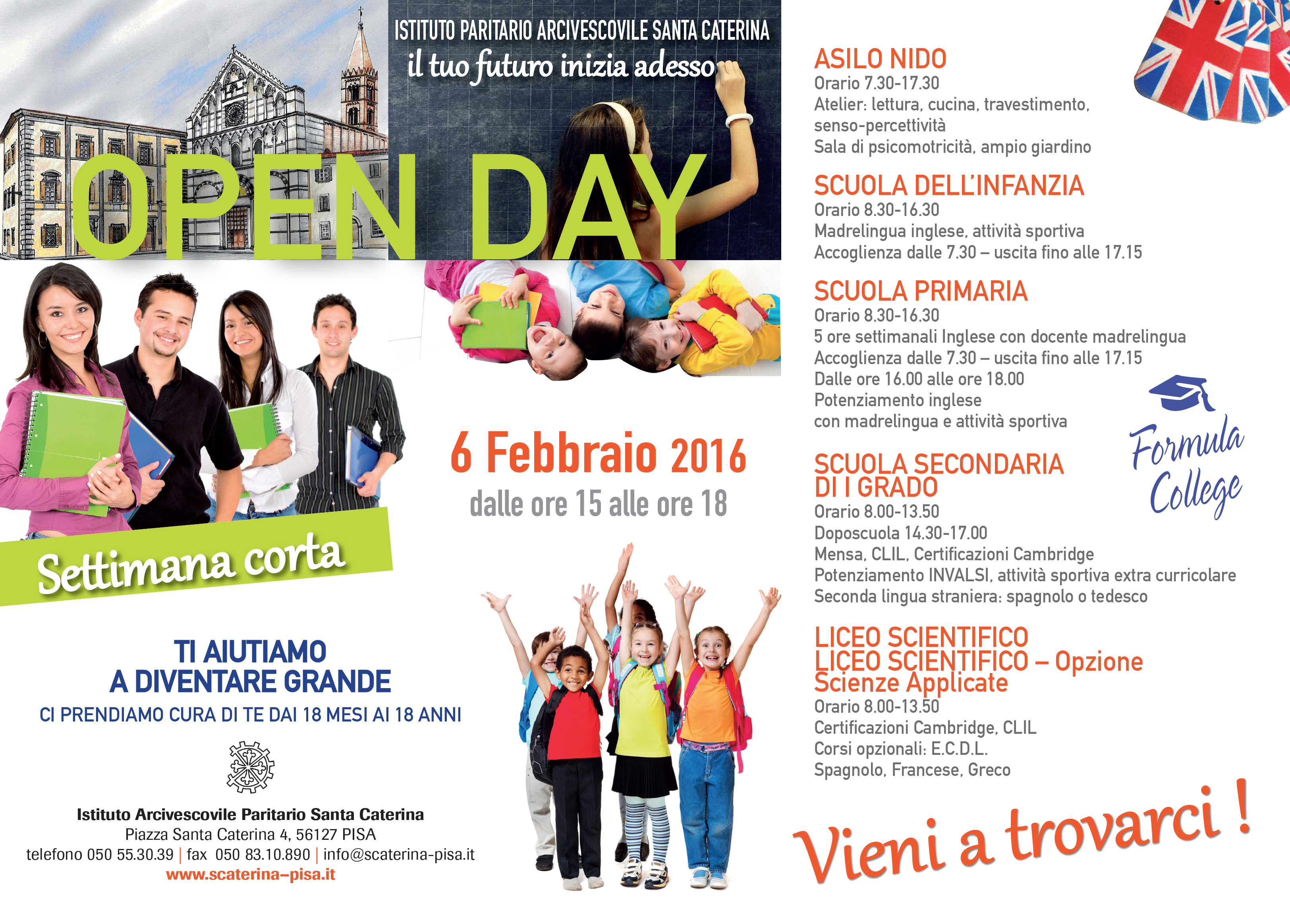 PAGINA QUOTIDIANI OPEN DAY 275x197.indd