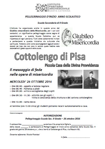locandina-pellegrinaggio-liceo-cottolengo-di-pisa-26-ottobre-2016